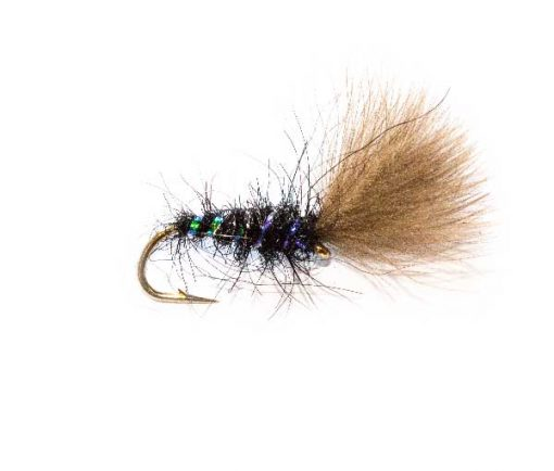 Fishing Flies Rutland Black Pearl CDC
