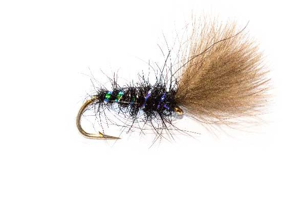 Fishing Flies Rutland Black Pearl CDC