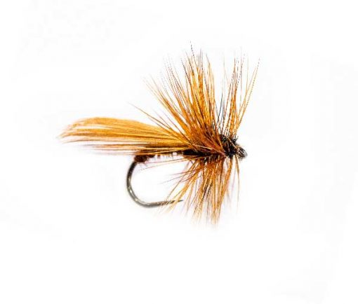 Caddis Brown Fluttering Dry Fly
