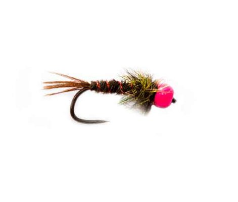 Fishing Flies RZ Pink Pheasant Tail Nymph