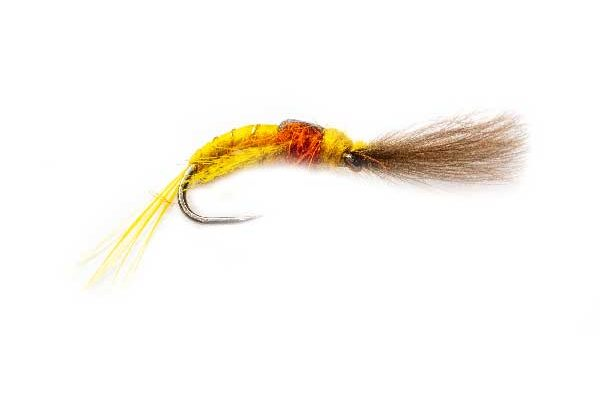 Yellow May Killer Hot CDC Fishing Flies