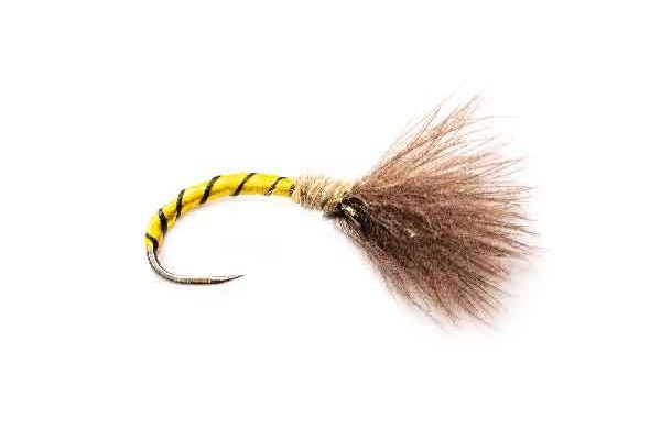 Yellow Owl CDC Fishing Fly