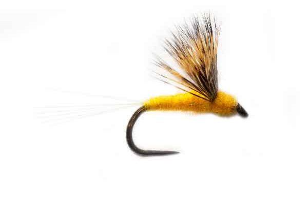 Deer Hair Pale Sulphur Comparamdum Fishing Flys