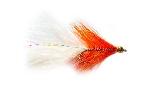 Orange Dancer Lure Fishery Fishing Flies