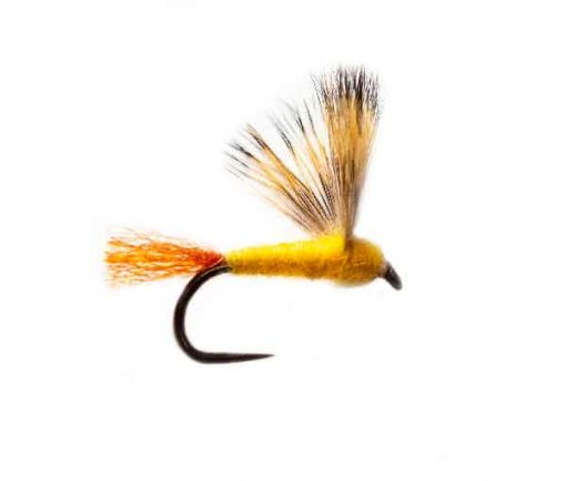 Sparkle Sulphur Comparamdum Fishing Fly