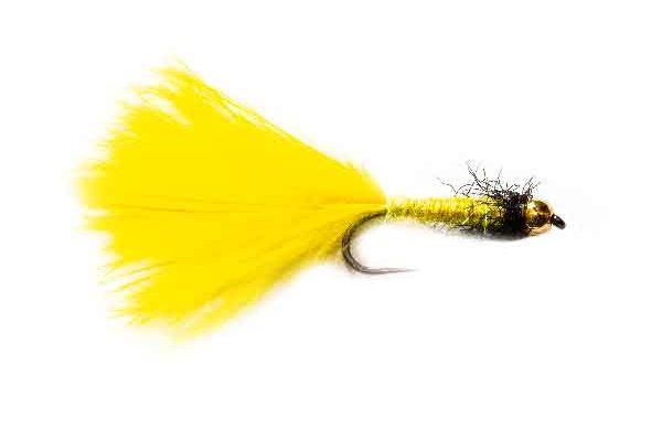 Fishery Flies Yellow Spectra Leech Killer