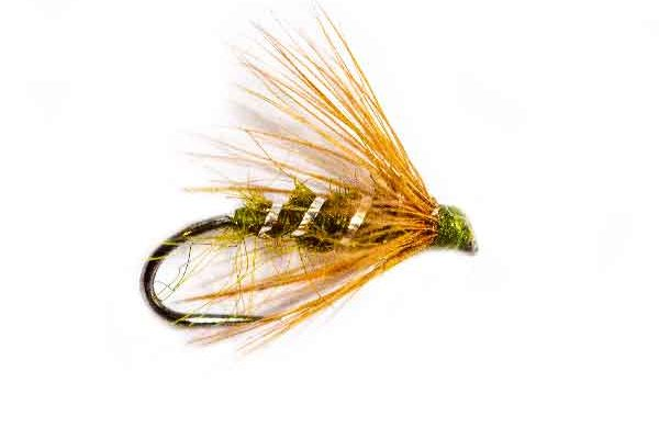 Bobs Bits Olive Fishing Fly